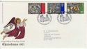 1971-10-13 Christmas Stamps Canterbury FDC (62084)