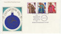 1972-10-18 Christmas Stamps Bethlehem FDC (62085)