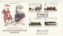 1975-08-13 Railway Stamps Darlington FDC (62086)