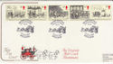 1984-07-31 Mailcoach Stamps Bath FDC (62099)