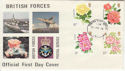 1976-06-30 Roses Stamps FPO 108 cds FDC (62100)