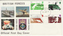 1977-01-12 Racket Sports Stamps FPO 43 cds FDC (62101)