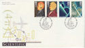 1991-03-05 Scientific Achievements Stamps London SW FDC (62102)