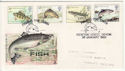 1983-01-26 Fish Stamps Newton Abbot FDC (62103)