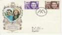 1973-11-14 Royal Wedding Wetminster Abbey SW1 FDC (62107)