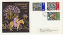 1971-10-13 Christmas Stamps Battersea FDC (62117)