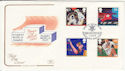 1991-06-11 Sport Stamps Cardiff Arms Park FDC (62122)