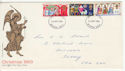 1969-11-26 Christmas Stamps Battersea FDC (62132)