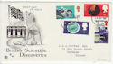1967-09-19 Discoveries Stamps Worthing FDC (62135)