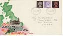 1967-06-05 Definitive Stamps Exeter FDC (62149)