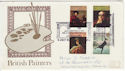 1973-07-04 Painters Stamps London W1 FDC (62170)
