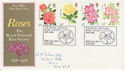 1976-06-30 Roses Stamps Oxford FDC (62172)