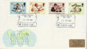1984-09-25 British Council Stamps Lichfield FDC (62205)