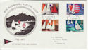 1975-06-11 Sailing Stamps Rye Harbour FDC (62228)