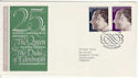 1972-11-20 Silver Wedding Windsor FDC (62237)