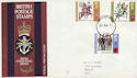1971-08-25 Anniversaries Stamps Forces PO cds FDC (62270)