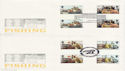 1981-09-23 Fishing Gutter Stamps x2 SHS FDC (62287)