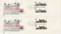 1978-03-01 Historic Buildings T/L Gutters x4 FDC (62296)