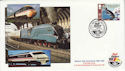 1988-05-10 Mallard Train Rail Riders York FDC (62310)
