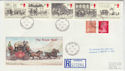 1984-07-31 Mailcoach Stamps Moffat cds FDC (62318)