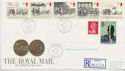 1984-07-31 Mailcoach Stamps Holyhead cds FDC (62320)