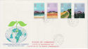 1983-03-09 Commonwealth Day Stamps Commons SW1 cds FDC (62322)