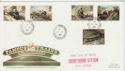 1985-01-22 Famous Trains Crowthorne Stn cds FDC (62324)