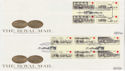 1984-07-31 Mailcoach Stamps Gutters x2 SHS FDC (62328)