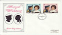 1973-11-14 Jersey Royal Wedding Stamps FDC (62334)