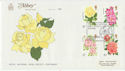 1976-06-30 Roses Stamps Oxford FDC (62341)