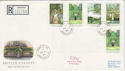 1983-08-24 British Garens Stamps Udny cds FDC (62346)