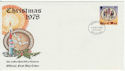1978-10-18 IOM Christmas Stamp FDC (62465)