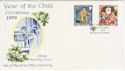 1979-10-19 IOM Christmas Stamps FDC (62475)