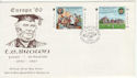 1980-05-06 IOM Europa T E Brown Stamps FDC (62477)
