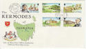 1980-09-29 IOM Kermodes Stamps FDC (62478)