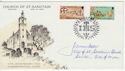 1974-09-18 IOM Church of St Sanctain Signed FDC (62491)
