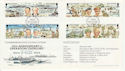1994-06-06 IOM D-Day Anniv Stamps Flown FDC (62498)