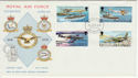 1978-02-28 IOM RAF Diamond Jubilee Stamps FDC (62501)