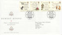 1996-01-25 Robert Burns Stamps Bureau FDC (62504)