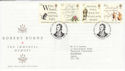 1996-01-25 Robert Burns Stamps Dumfries FDC (62505)