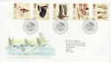 1996-03-12 Wildfowl and Wetlands Stamps Slimbridge FDC (62506)