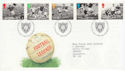 1996-05-14 Football Legends Bureau FDC (62512)