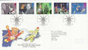 1996-09-03 Childrens TV Stamps Alexander Palace FDC (62519)