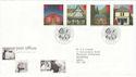 1997-08-12 Post Offices Stamps Wakefield FDC (62528)