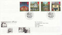 1997-08-12 Post Offices Stamps Wakefield FDC (62529)