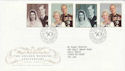 1997-11-13 Golden Wedding London SW1 FDC (62542)