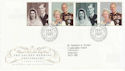 1997-11-13 Golden Wedding Anniv Bureau FDC (62543)