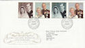 1997-11-13 Golden Wedding Anniv Bureau FDC (62544)
