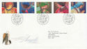 1998-11-02 Christmas Angels Bethlehem FDC (62575)