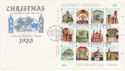 1988-11-15 Guernsey Christmas M/S FDC (62634)